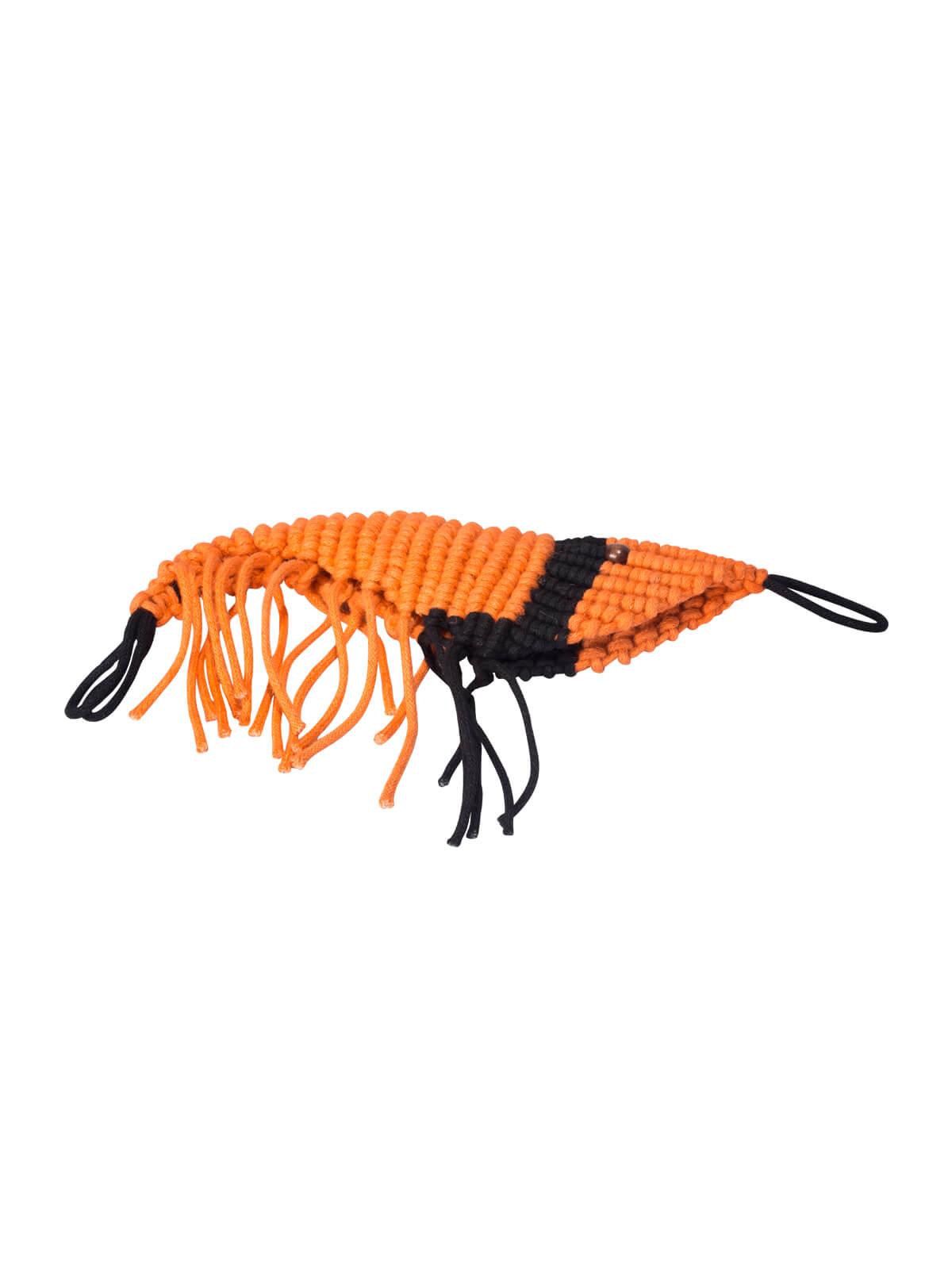 Jute Shrimp Toy