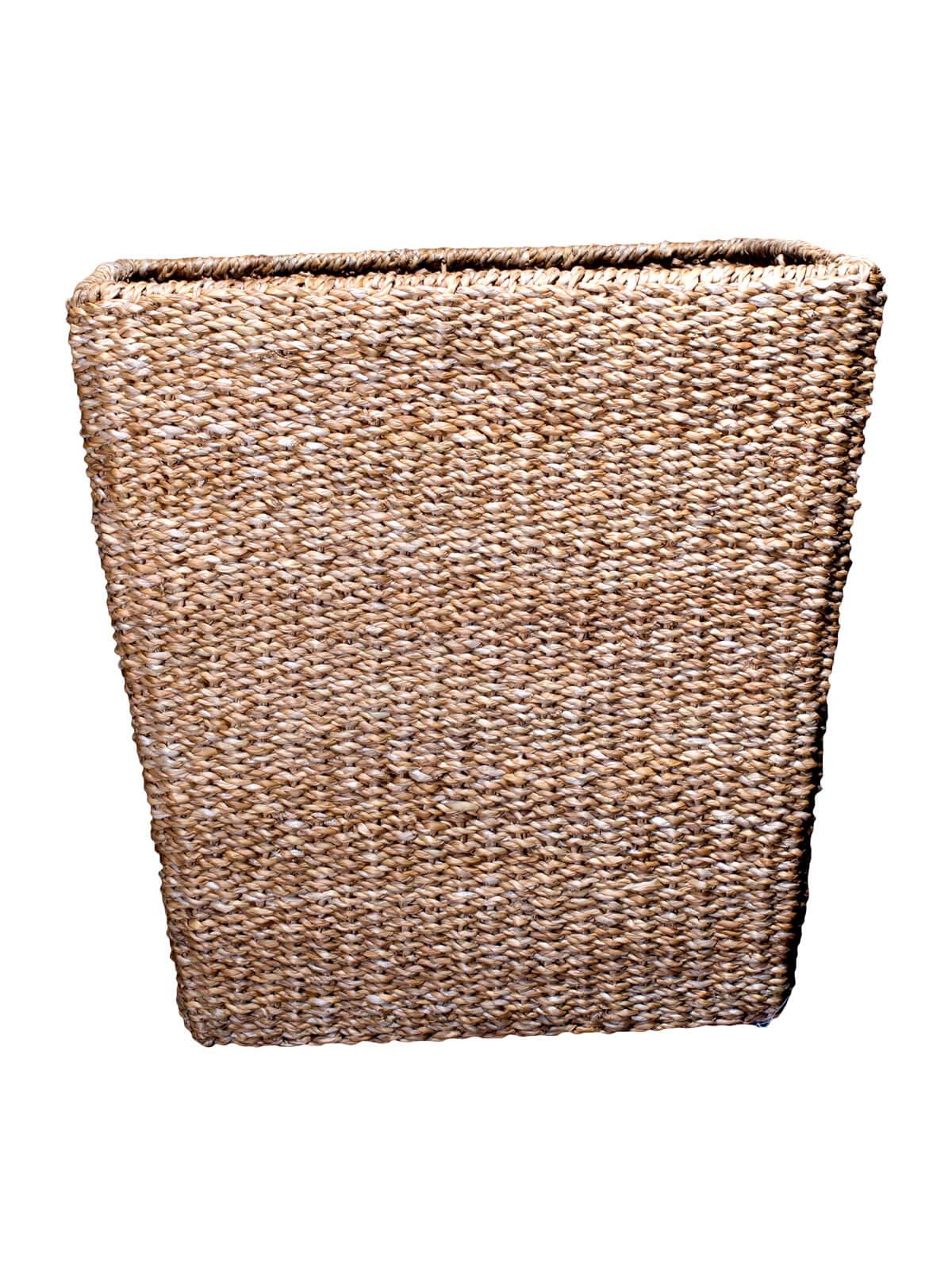 Sea Grass Iron Frame Cylinder Basket