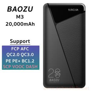 BAOZU M3 20K mAh Powerbank