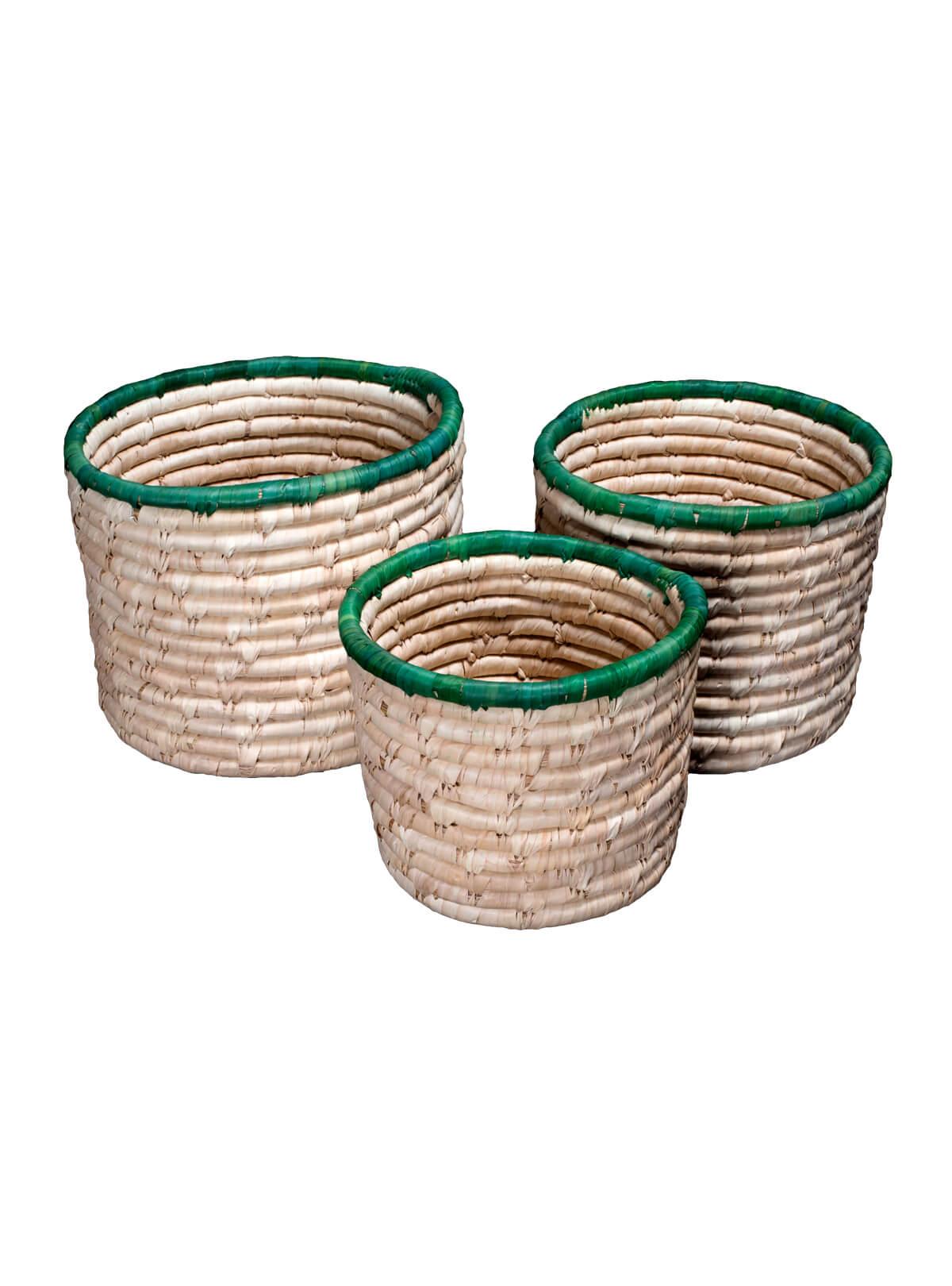 Palm Fiber Cylinder