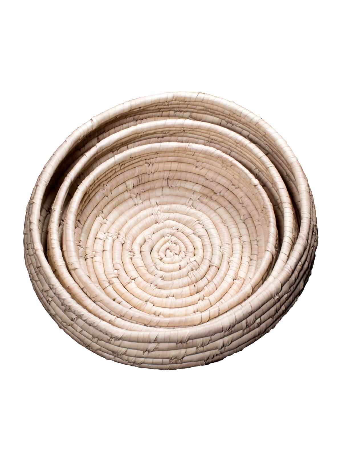 Palm Fiber Bowl