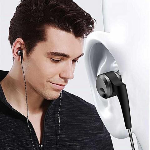 QKZ KD10 Dual-Driver In-Ear Wired Heavy Bass Music Headphone HIFI Sport Earphone Earbuds