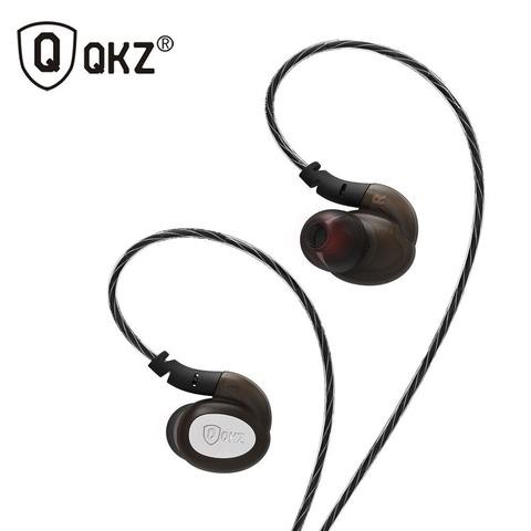 QKZ DM600 Mobile Sports Ear Headphones Bass Line Control with Microphone Ear Hanging