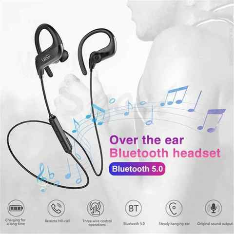 UiiSii BT100 Over Ear Wireless Bluetooth 5.0 Earphone