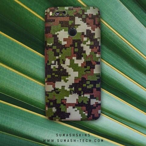 Shining Green Camouflage