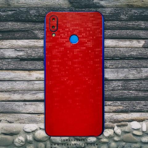 Red Pixel Skin