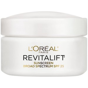 L'Oreal Paris Revitalift Anti-Wrinkle + Firming Day Moisturizer SPF 25