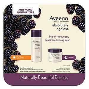 AVEENO® Absolutely Ageless 2 pack (Daily Moisturizer and Restorative Day & Night Cream)