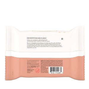 Aveeno Ultra-Calming Foaming Cleansing Oil-Free Makeup Removing Wipes 25 ct