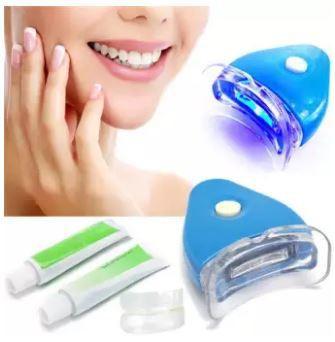 Teeth whitening kit LED light with 20 g whitening gel toothpaste tooth whitener Dental Care