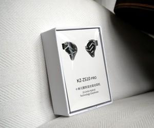 KZ ZS10 Pro Driver in-Ear HiFi Metal Earphones 2 Pin Detachable Cable