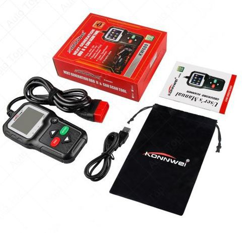 Automotivo Scanner KONNWEI KW680 Auto Scanner Supports Multilingual Automotive OBD2 Engine Auto Diagnostic Scanner