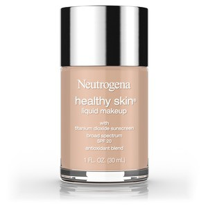 Neutrogena Healthy Skin Liquid Makeup Foundation, Broad Spectrum Spf 20, 90 Warm Beige, 1 Oz.