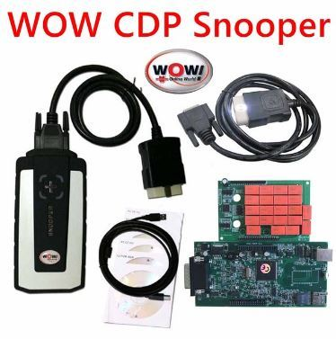WOW Snooper Diagnostic Tools v5.008 R2 R0 With Bluetooth transport keygen car tool Truck