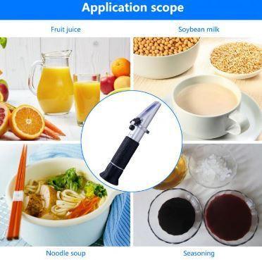 Portable Handheld Refractometer for Milk 0-20% brix milk refractometer 0-20% built-in ATC