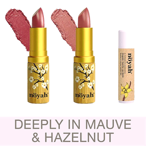 Deeply In Mauve and Hazelnut (by Noyah)
