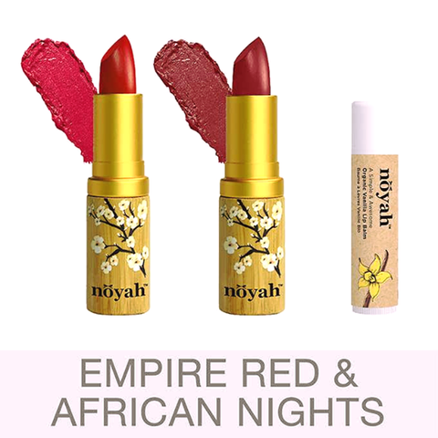 African Nights & Empire Red Lipstick (by Noyah)