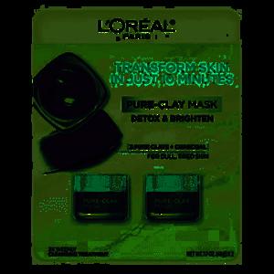 L'Oreal Pure-Clay Mask, 2 pk./1.7 oz.