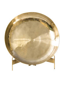 Golden Color Bel-Metal Belli Plate