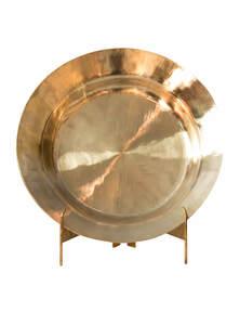 Golden Color Bel-Metal Plate