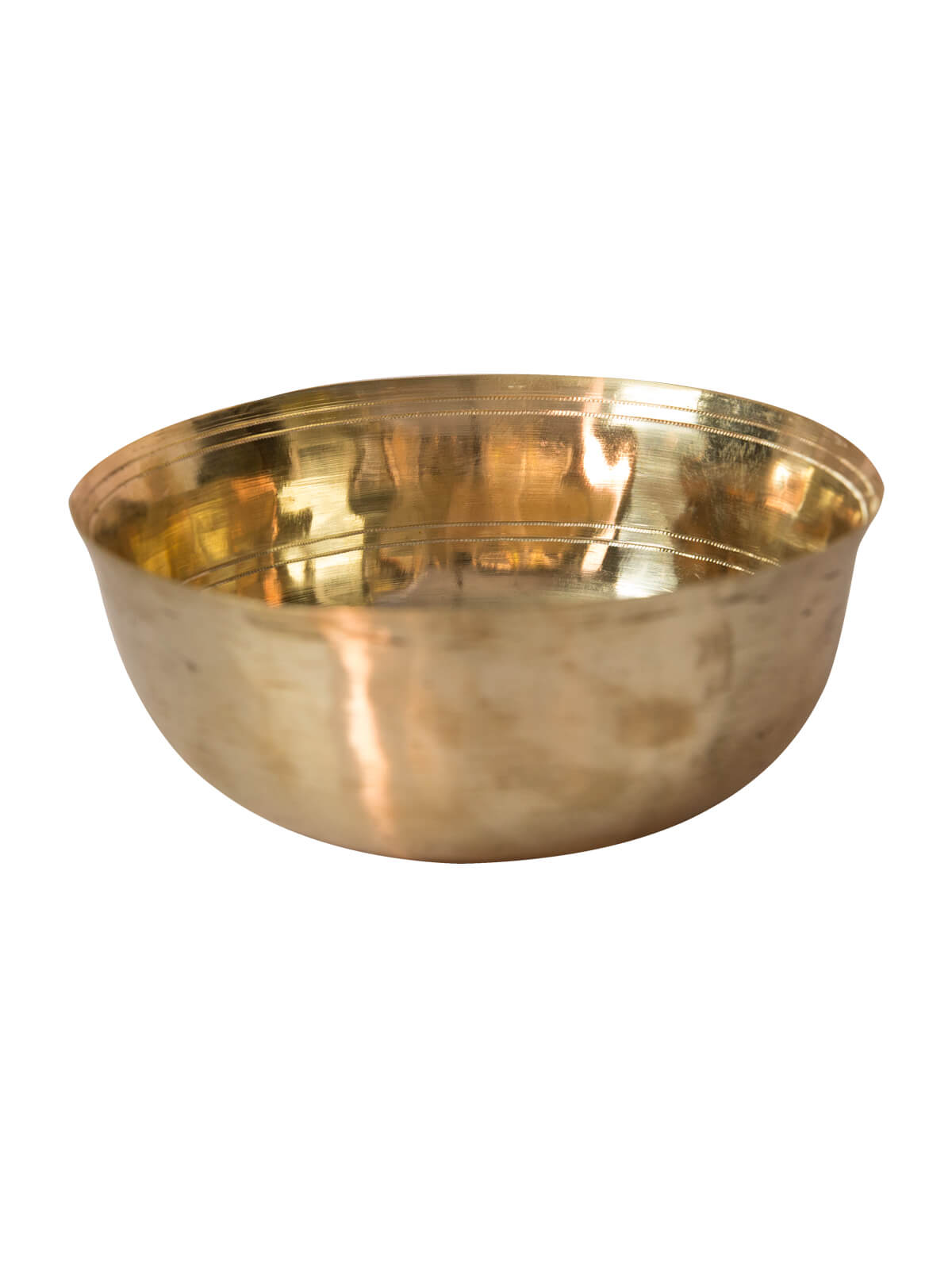 Golden Color Bel-Metal Bowl