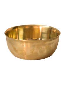 Golden Color Bel-Metal Dinner Set Bowl
