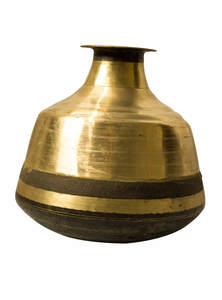Golden Color Bel-Metal Sorbosundori Water Jar