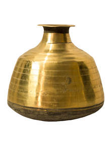 Golden Color Bel-Metal Sorbosundori Small Water Jar