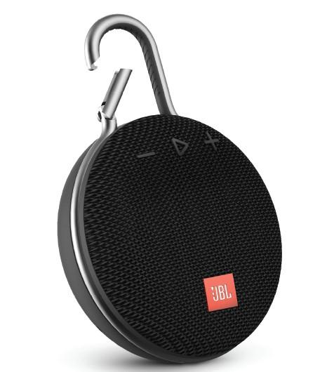 JBL Clip 3 Portable Waterproof Wireless Bluetooth Speaker Gray