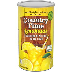 Country Time Lemonade Flavored Drink Mix 82.5 oz Canister
