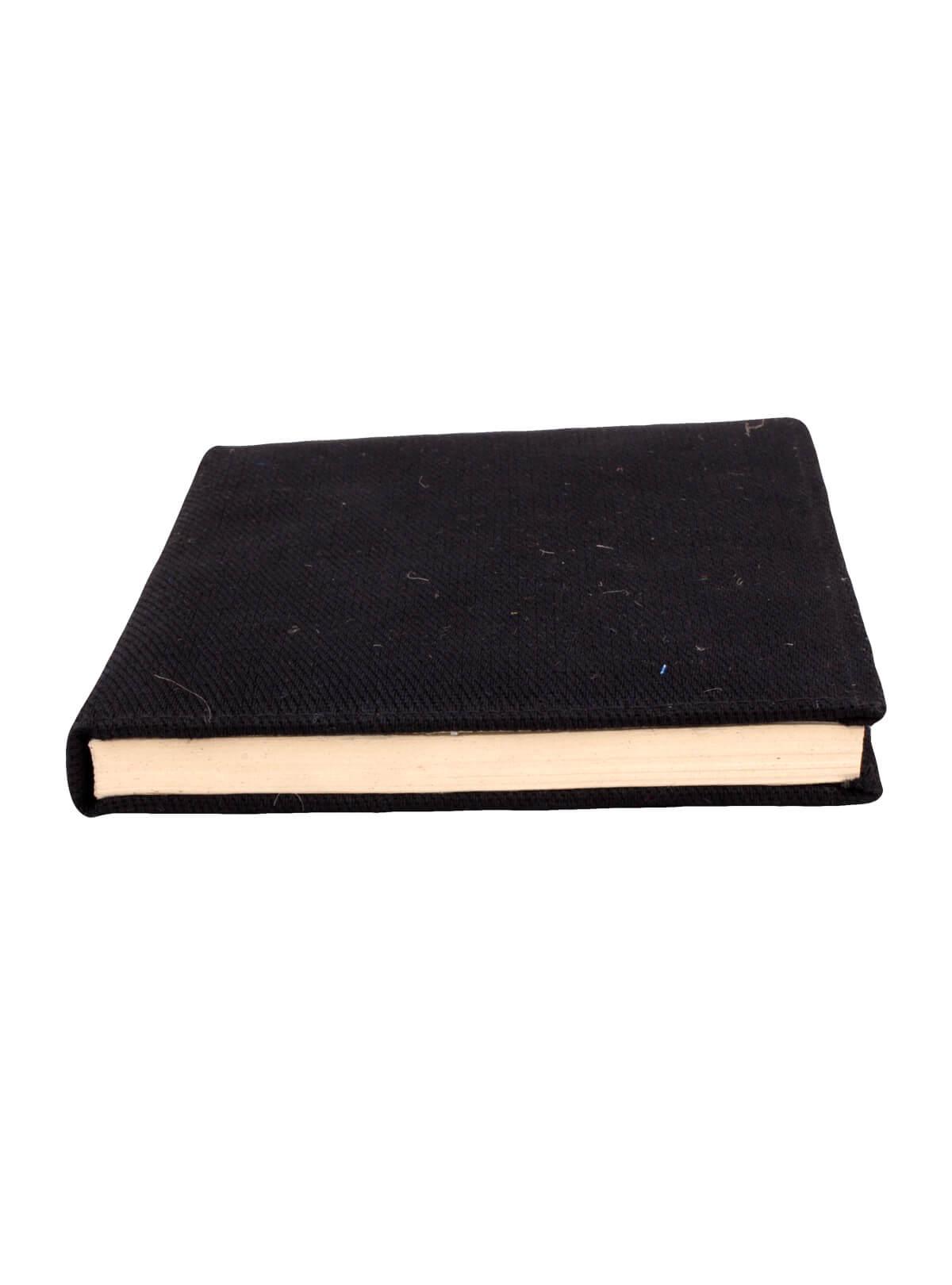 Black Jute Paper Diary