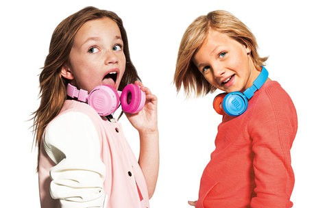 JBL JR 300 Kids On-Ear Headphones with Safe Sound Technology