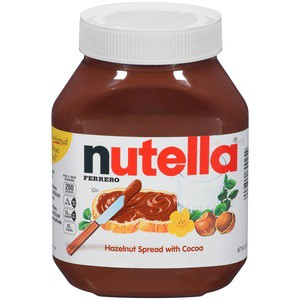 Nutella Hazelnut Spread with Cocoa, 33.5 oz