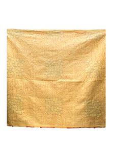 Harvest Gold Cotton Sujni Kantha