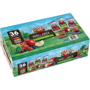 Apple & Eve 100% Fruit Juice Bonus Variety Pack, 36