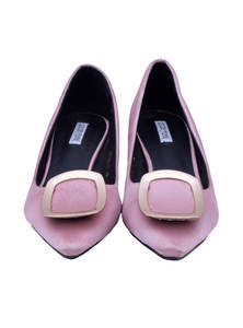 Pink Pencil Heel Ladies Shoe