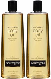 Neutrogena Body Oil Light Sesame Formula, 2-16 fl. oz
