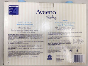 AVEENO Baby Wash & Shampoo 18oz - 2 pack