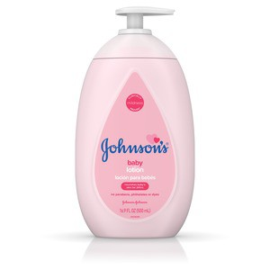 Johnson's Moisturizing Pink Baby Lotion 16.9 fl. oz