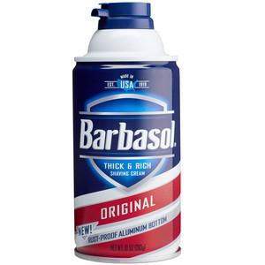 Barbasol, Thick & Rich Shaving Cream, Original - 7oz