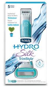 Hydro Silk TrimStyle Moisturizing Razor for Women with Bikini Trimmer