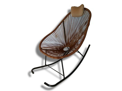 Rocking Chair/E008/Coffee