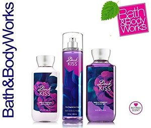 Bath & Body Works Dark Kiss Gift Set Body Lotion, Shower Gel and Fragrance Mist
