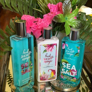FRESH SEA SALT MANGO Deluxe Gift Set Lotion, Fragrance Mist & Shower Gel