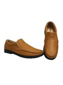 Meteor Orange Gents Shoe