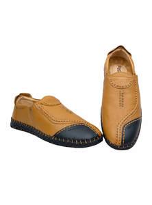 Meteor Orange & Bastille Blue Gents Shoe