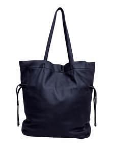 Midnight Express Blue K.J Bag Silver