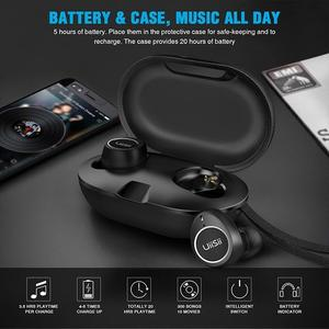 UiiSii TWS60 Bluetooth 5.0 Waterproof Touch Earphone