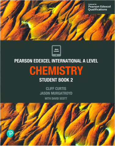 Edexcel International A Level Chemistry 2 Student Book