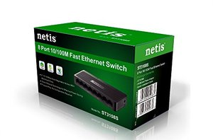 Netis 8 Port Fast Ethernet Switch 10/100